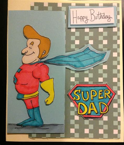 Handmade Cards For Dads Birthday - birthday card diy