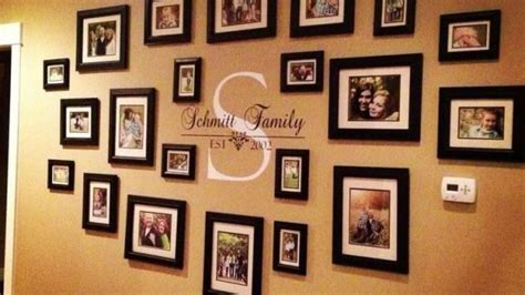 photo wall ideas without frames photo wall ideas home design