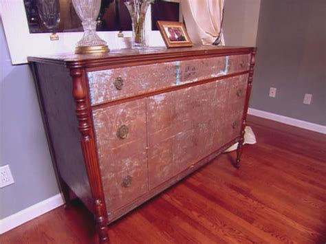 Decoupage Dresser - decoupage ideas for furniture hgtv