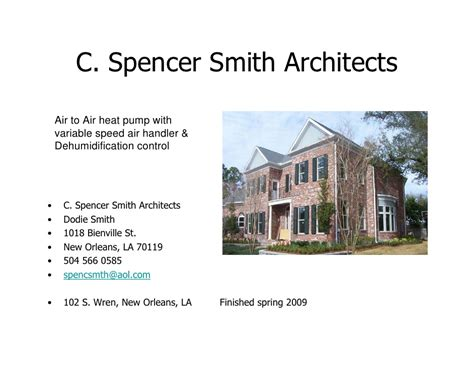 Engineered Comfort Systems by Comfort Engineered Systems Inc Local Architects Slide Show