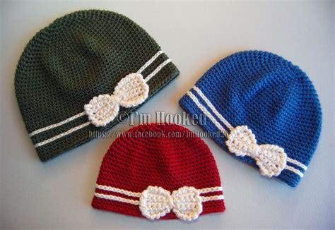 crochet pattern cute hat i m hooked cute and warm hats crochet stitches pinterest