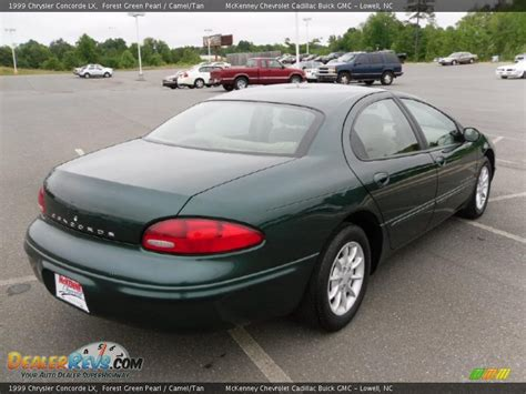 Chrysler Concorde 1999 by 1999 Chrysler Concorde Lx Forest Green Pearl Camel