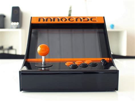 Make Your Own Arcade Cabinet by Make Your Own Nanocade Mini Arcade Cabinet Gadgetsin