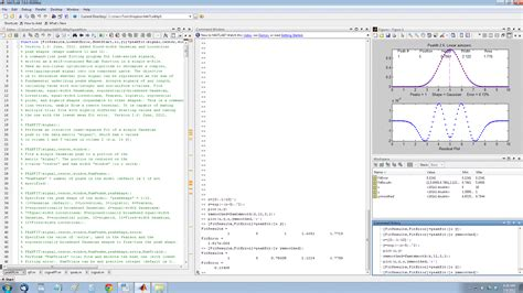 Matlab Tables by Introduction To Signal Processing Table Of Contents