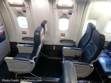 what is a preferred seat on delta delta 767 300 domestic coach exit row 26 seat 1 delta