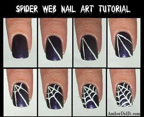 tutorial web easy 10 wonderful halloween nail art ideas