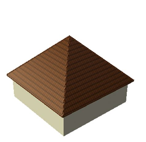 Pyramid Shaped Roof Simple Roof Shapes