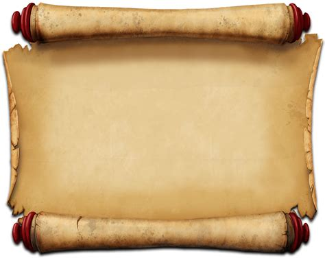 ancient scroll template scroll png clipart hq png image freepngimg