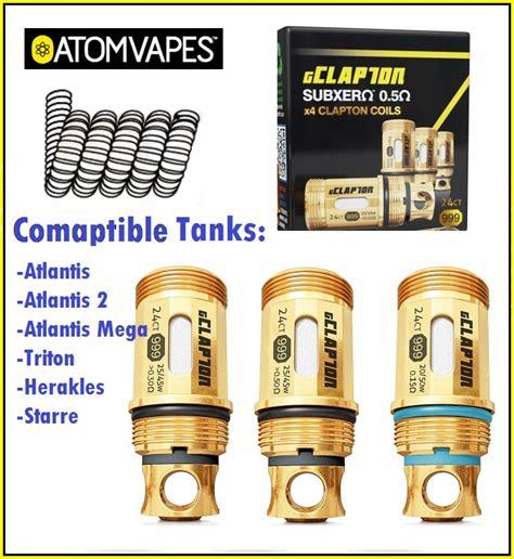 Kraken Coil Fused Clapton Gold Series atom vapes g clapton coils for atlantis triton herakles starre