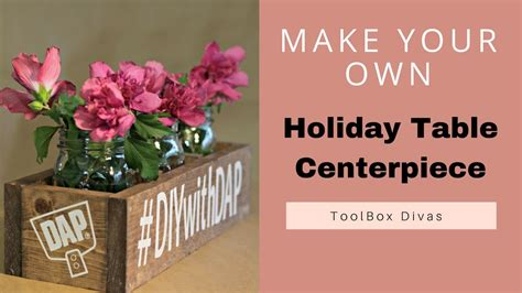 toolbox christmas centrpiece diy wooden centerpiece box