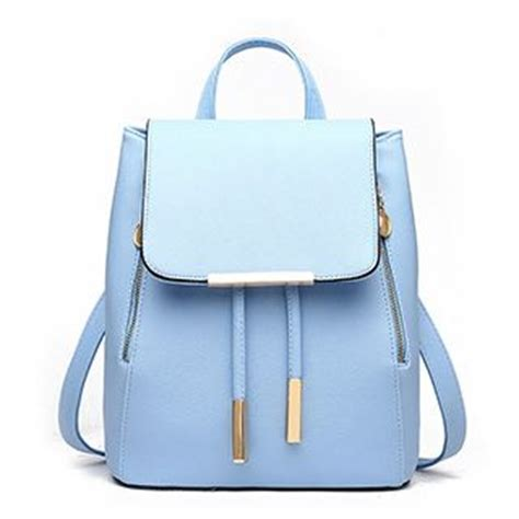 buy miim faux leather backpack   yesstyle
