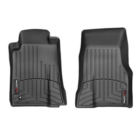 weathertech mustang digitalfit floor mats black 05 09 441391
