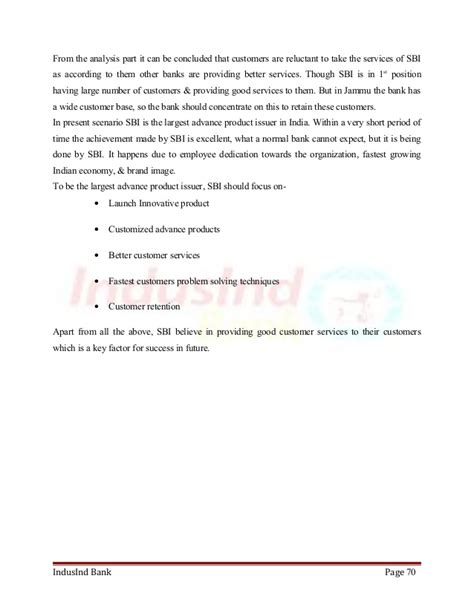 Mba Project Report On Syndicate Bank by Mba Project Report On Hdfc Bank