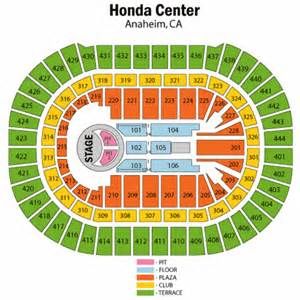 Honda Center Seating View Honda Center Seating View Car Interior Design