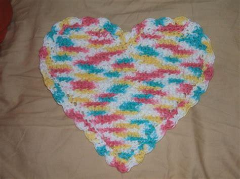 crochet pattern heart dishcloth 20 crochet dishcloth patterns guide patterns