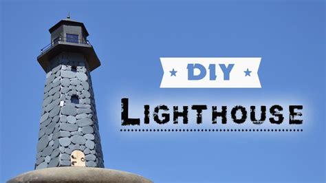 diy lighthouse    lighthouse  cardboard