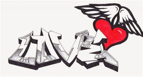 imagenes de love en grafiti im 225 genes de graffitis de amor a l 225 piz arte con graffiti