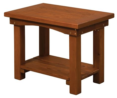 small accent tables wood cedar wood small end table from dutchcrafters amish furniture