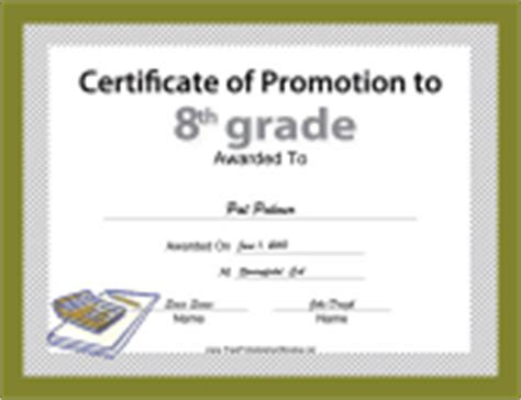 5th grade graduation certificate template scholarship certificates free printable certificates