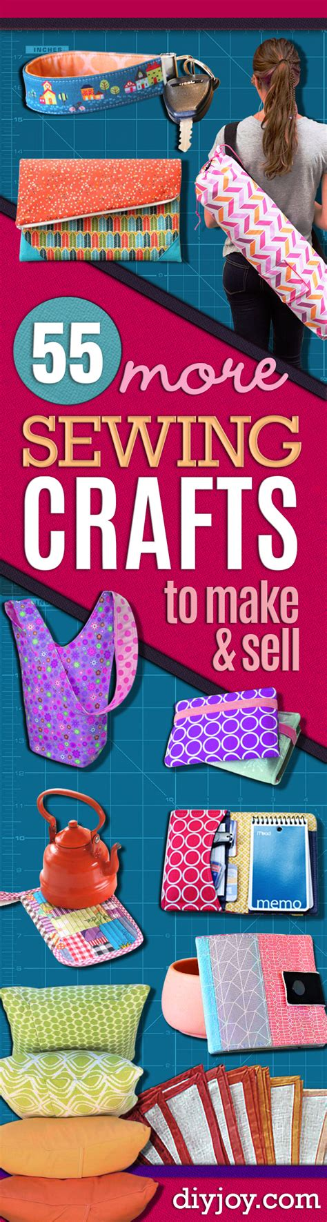 crafts to sell 55 more sewing crafts to make and sell