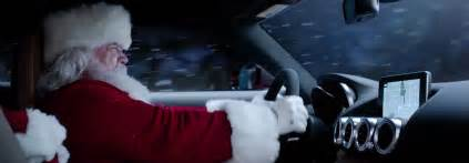 Mercedes Of Santa What Is Santa Driving In New Mercedes Commercial