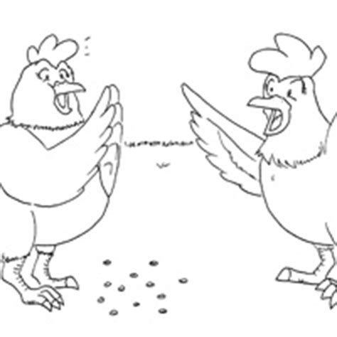 chicken licken coloring page chicken licken coloring story