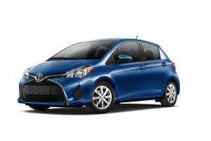 Blue Toyota Yaris Toyota Yaris Hatchback Gets Facelift For America