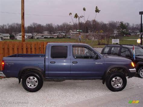 nissan 2000 4x4 2000 denim blue nissan frontier xe crew cab 4x4 22148133