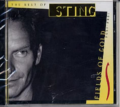 fields of gold the best of sting 1984 1994 sting fields of gold records lps vinyl and cds musicstack