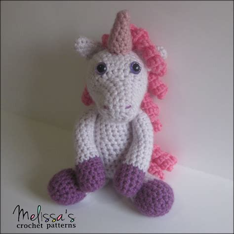 pattern crochet unicorn annabelle the unicorn by melisstrenado craftsy