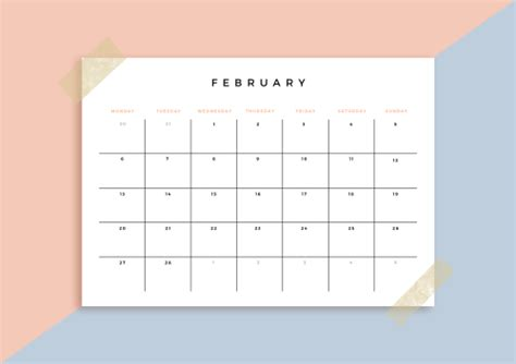 Galerry printable calendar 2018 year planner
