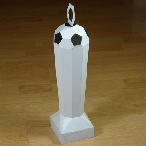 How To Make A Paper Trophy - paper football trophy