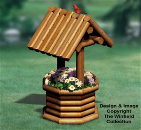 Landscape Timber Wishing Well Plans All Yard Garden Projects Landscape Timber Wishing Well