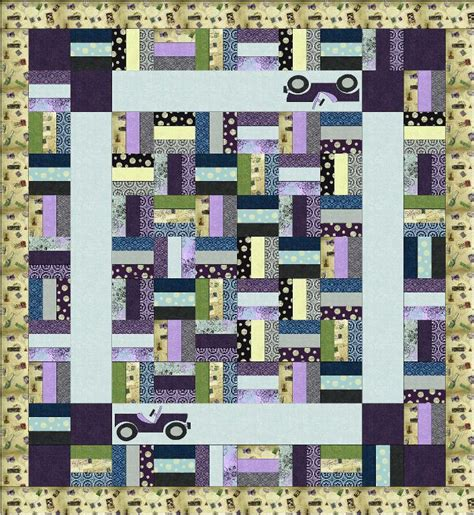 Trip Quilt Pattern by Free Pattern Friday Free Travel Patterns