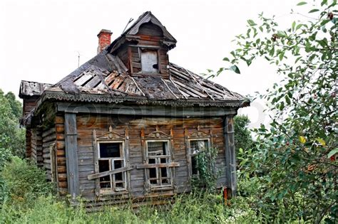 buy house in russia abandoned old house in russian village stock photo colourbox