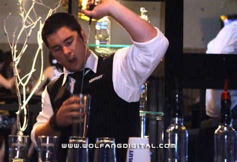 absolut eclectic bartenders flaring demo videographer journals