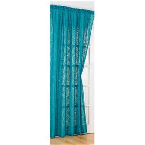 teal net curtains richmond teal voile panel 60 s inspired each panel 142cm