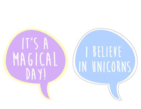 printable unicorn photo booth props a diy rainbow unicorn party the honeycutt home