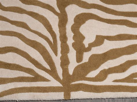 Indian Print Rugs by Beautiful Indian Modernist Zebra Print Rug In Wool For