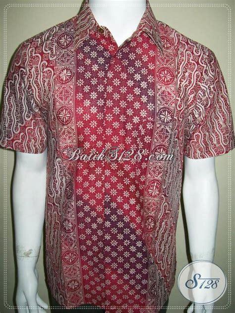 Kemeja Batik Mewah batik parang cap tulis gradasi kemeja batik mewah elegan