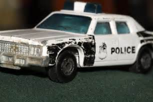 police car toy | my old metal police car thats been stored