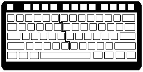 blank keyboard template fedei technology resource blank keyboard