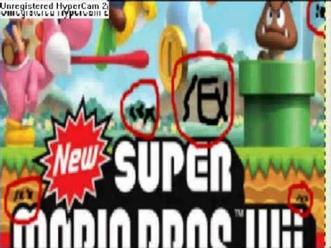 mensajes subliminales mario bros subliminal messages new super mario bros wii youtube