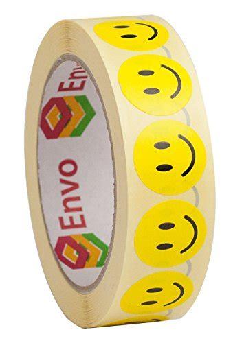 Aufkleber Rund Gelb by Smiley Aufkleber Rund 25mm Gelbe Runde Etiketten Smiley