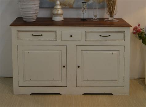 credenze on line credenza country chic 150 mobili shabby chic