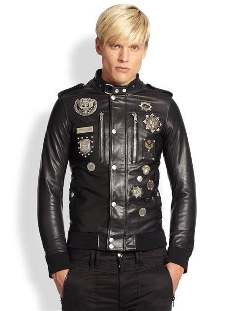 Jaket Parka Vans 2 In 1 Gold Navy Fashion Pria lyst diesel black gold embellished leather jacket in black for