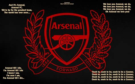 Arsenal Chants | pin by brian shelley on arsenal pinterest