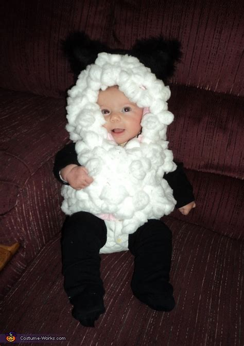 Handmade Sheep Costume - sheep costume
