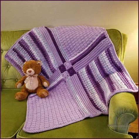 Patchwork Baby Blanket Tutorial - crochet tutorial patchwork medley baby blanket