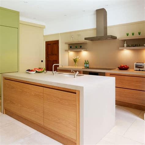 Ideas For Kitchen Worktops | worktops a pale and interesting minimal kitchen